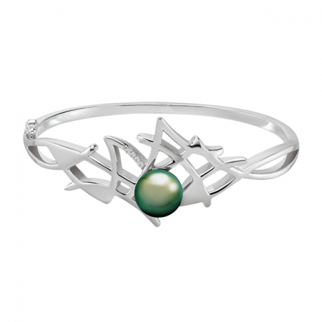 Bracelet Jonc Corail