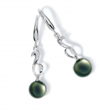 Boucles d'oreilles pendantes Lagune