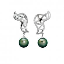 Boucles d'oreilles pendantes Archipel
