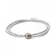 Bracelet double élastique Archipel