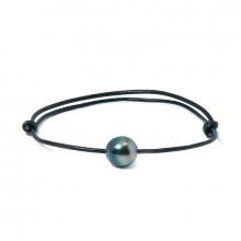 Bracelet cordon cuir Epure
