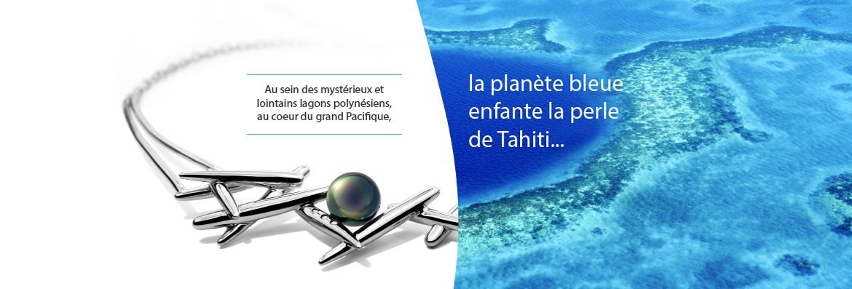 la planète bleue enfante la perle de Tahiti...